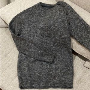 All saints sweater with side button